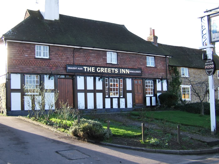 The Greets Inn pub in Warnham